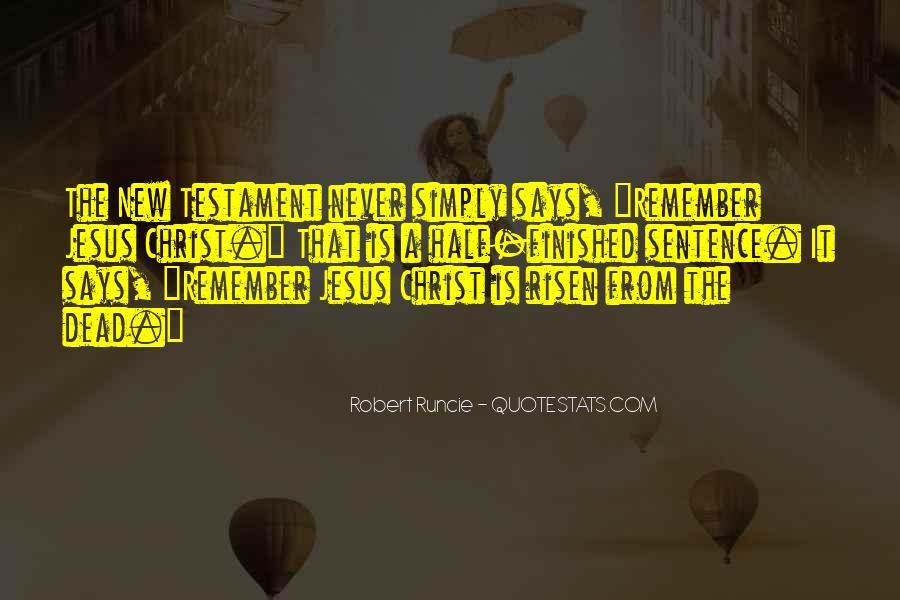 Robert Runcie Quotes #708609