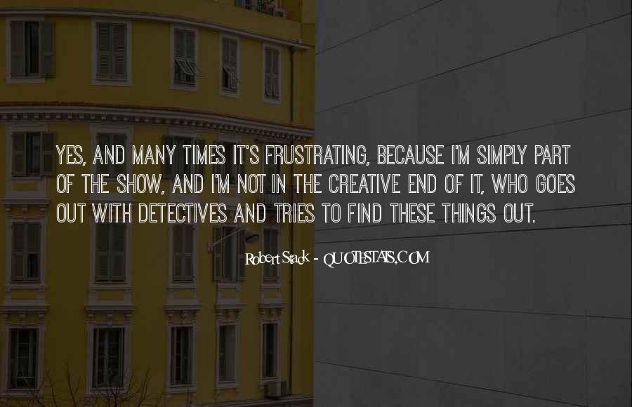 Robert Stack Quotes #488335