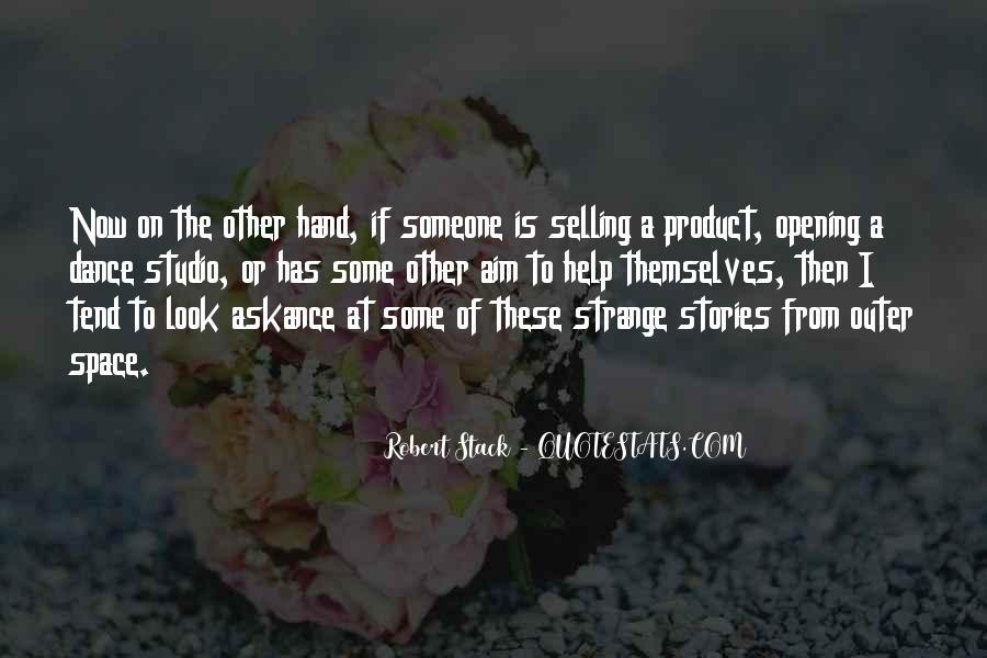 Robert Stack Quotes #539373