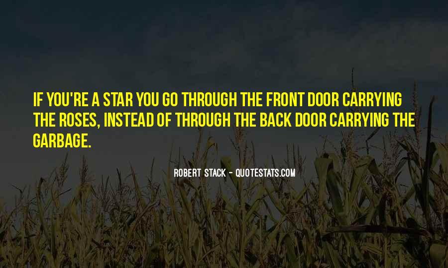 Robert Stack Quotes #677996