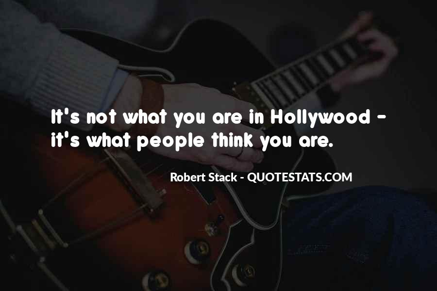 Robert Stack Quotes #993881