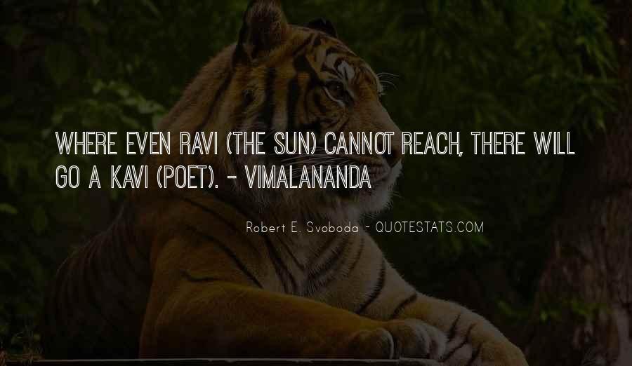 Robert Svoboda Quotes #48399