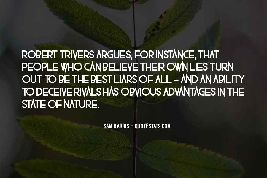 Robert Trivers Quotes #1810767
