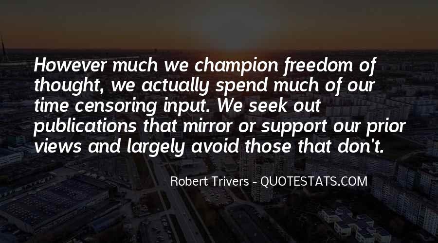 Robert Trivers Quotes #296041
