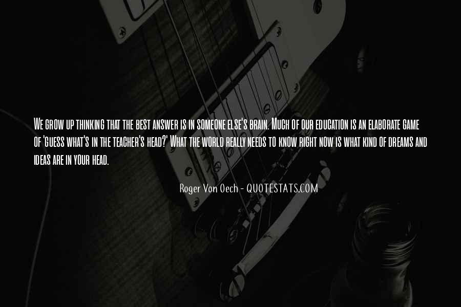Roger Von Oech Quotes #947711
