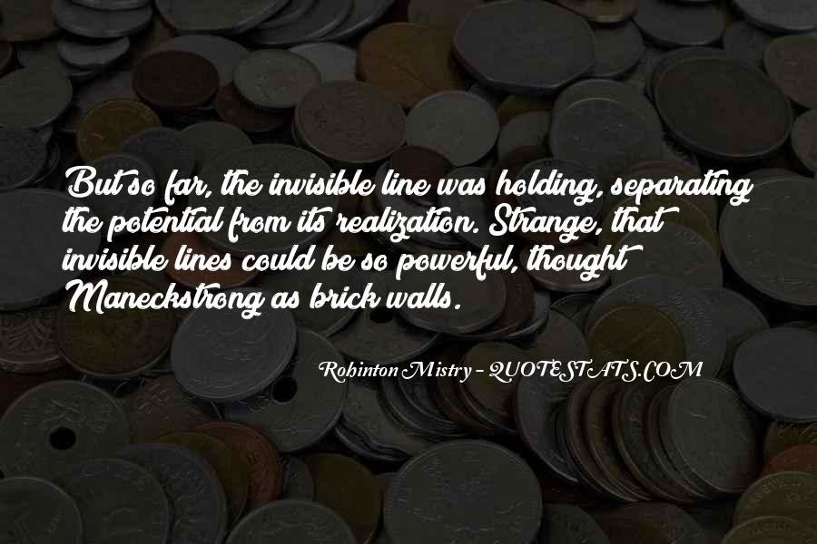 Rohinton Mistry Quotes #1000101