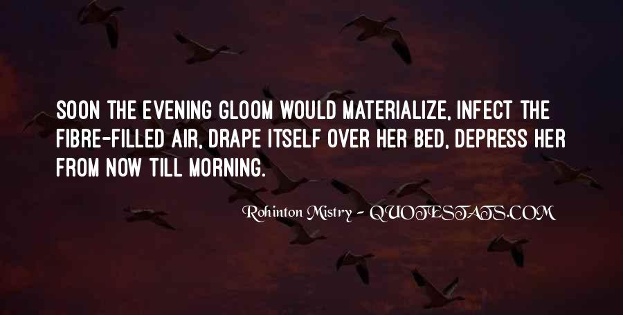 Rohinton Mistry Quotes #114207