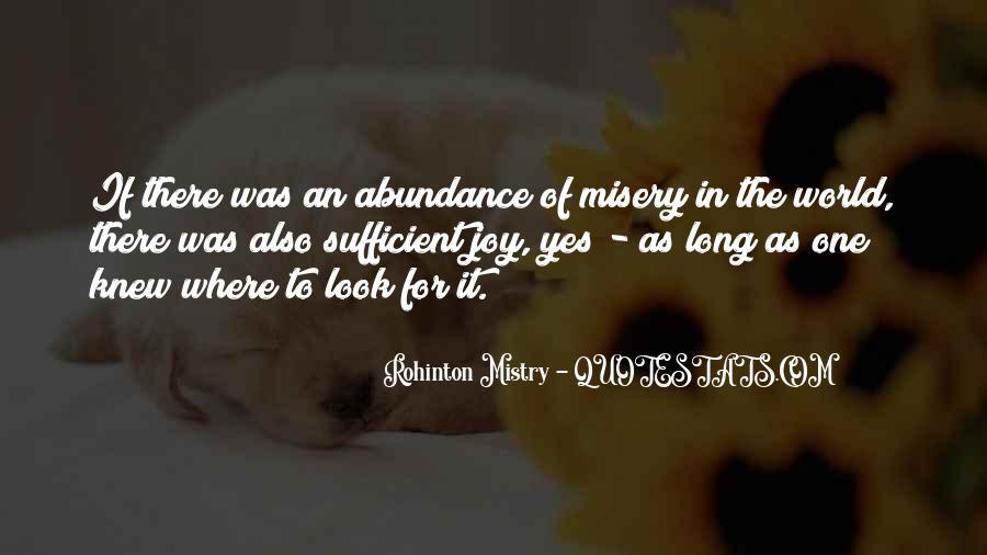 Rohinton Mistry Quotes #1220109