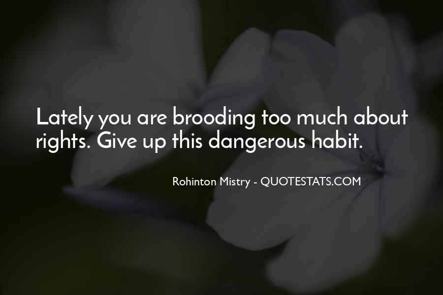 Rohinton Mistry Quotes #1298993