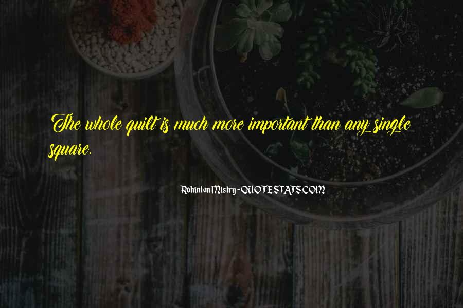 Rohinton Mistry Quotes #1337448