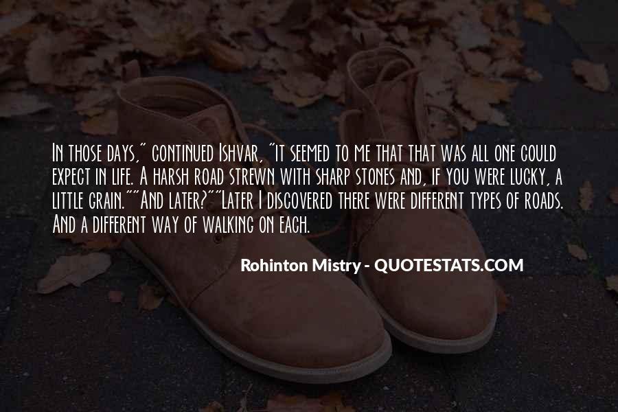 Rohinton Mistry Quotes #134473