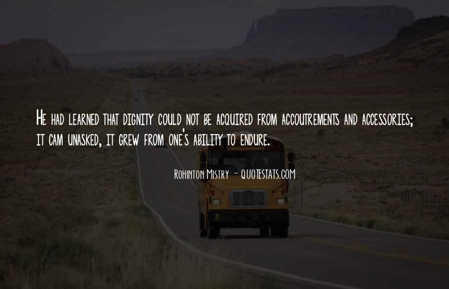 Rohinton Mistry Quotes #1370979