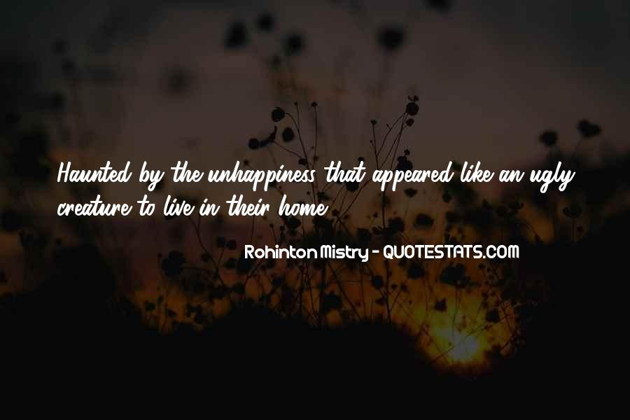 Rohinton Mistry Quotes #141091