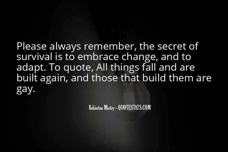 Rohinton Mistry Quotes #1418823
