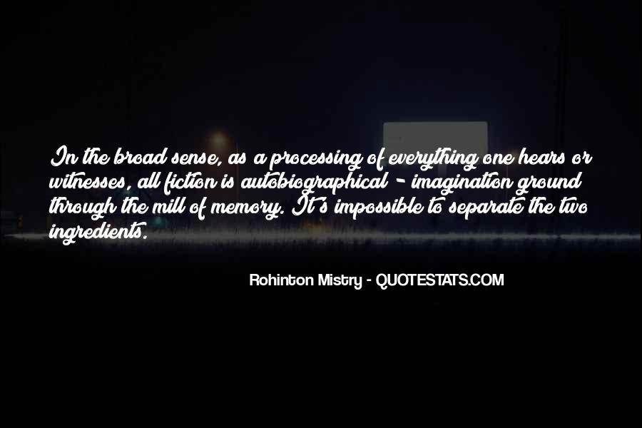Rohinton Mistry Quotes #1475989