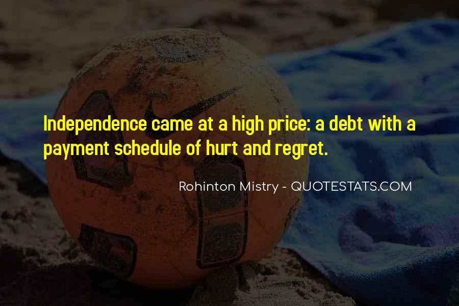 Rohinton Mistry Quotes #1481908