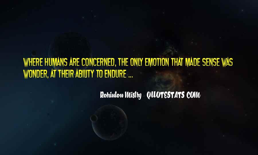 Rohinton Mistry Quotes #155420