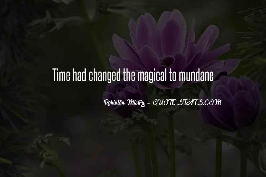 Rohinton Mistry Quotes #1572721