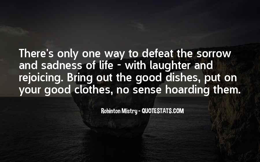 Rohinton Mistry Quotes #1678719