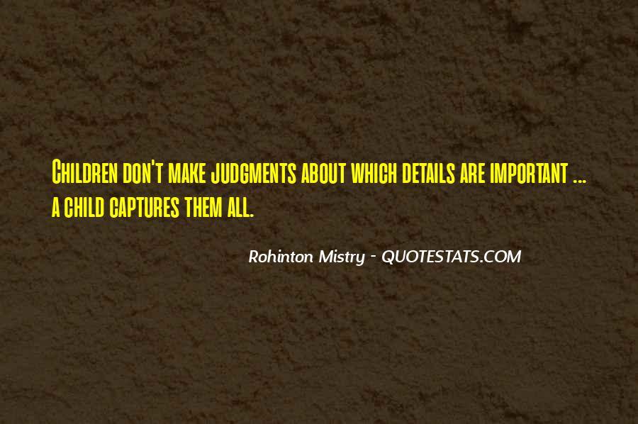 Rohinton Mistry Quotes #179990