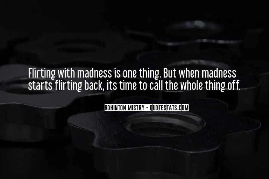 Rohinton Mistry Quotes #1834427