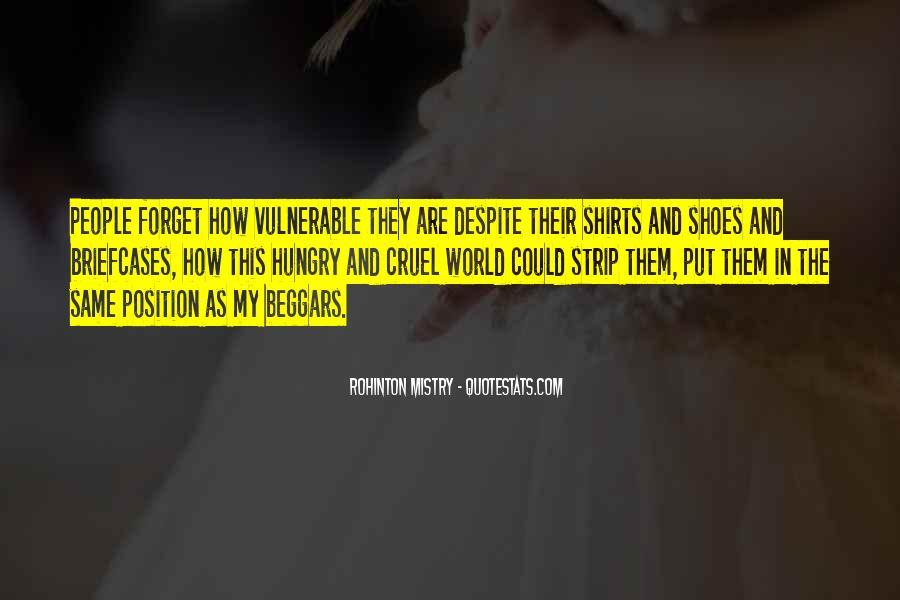 Rohinton Mistry Quotes #271968