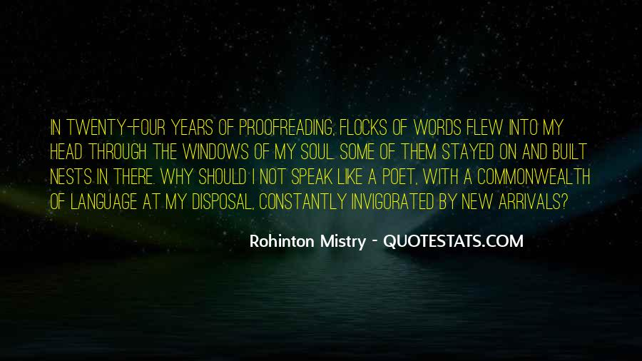 Rohinton Mistry Quotes #508232