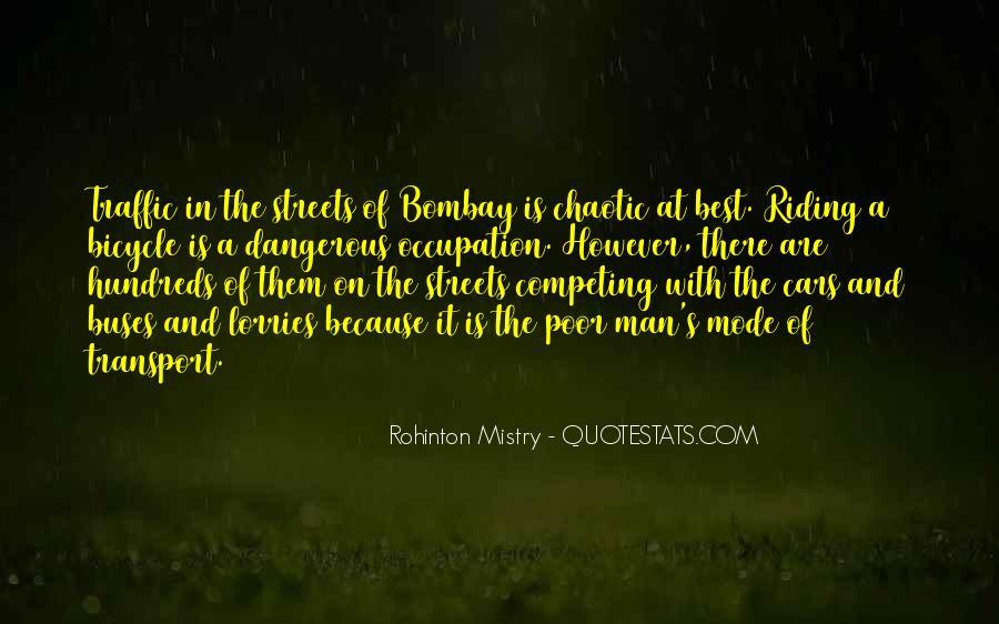 Rohinton Mistry Quotes #794686