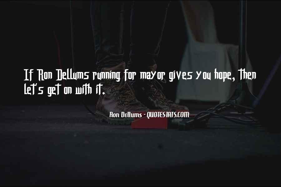 Ron Dellums Quotes #1116049