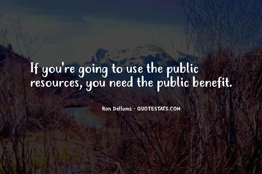 Ron Dellums Quotes #1597101