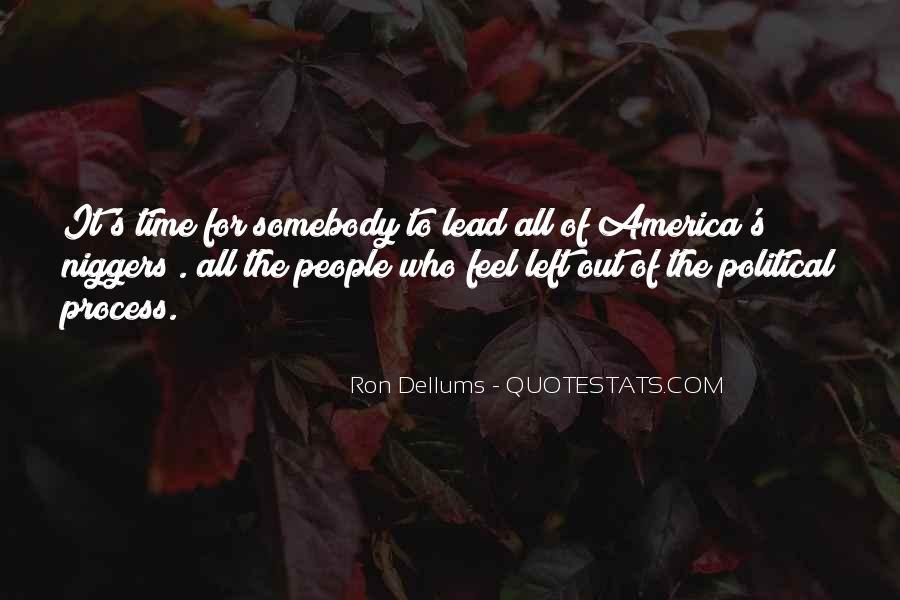 Ron Dellums Quotes #835837