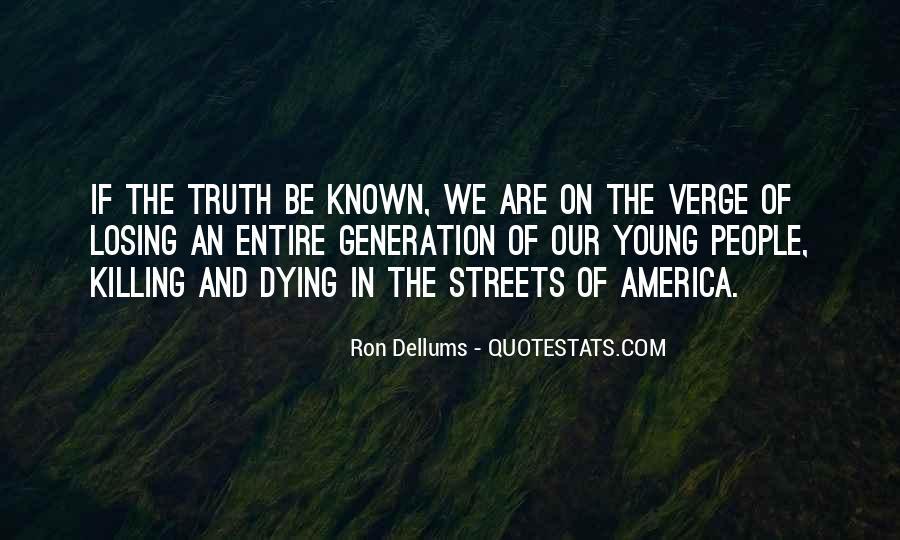 Ron Dellums Quotes #91549