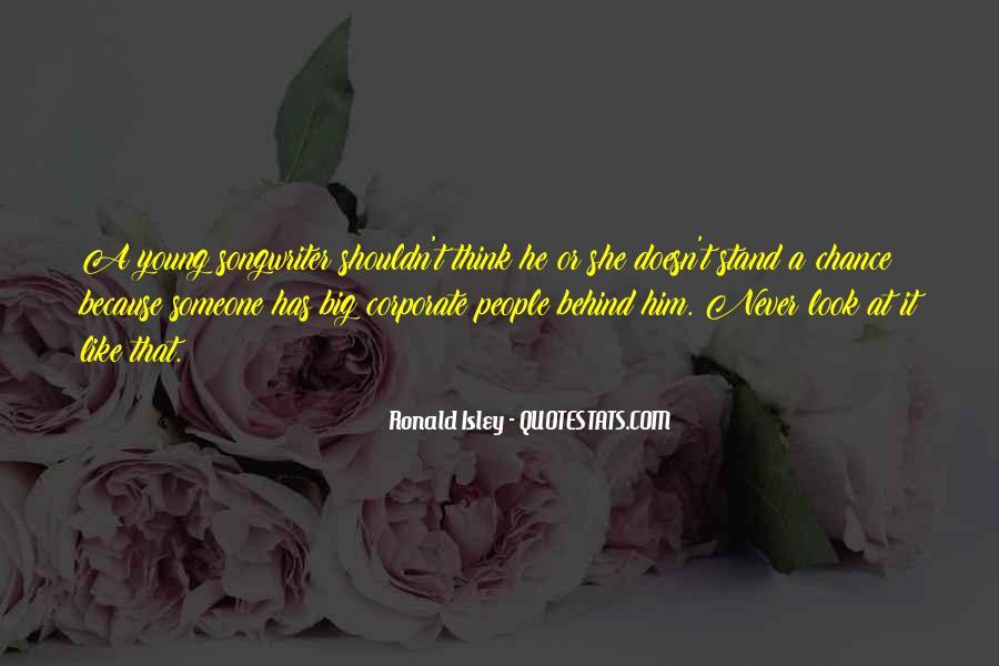 Ronald Isley Quotes #890386
