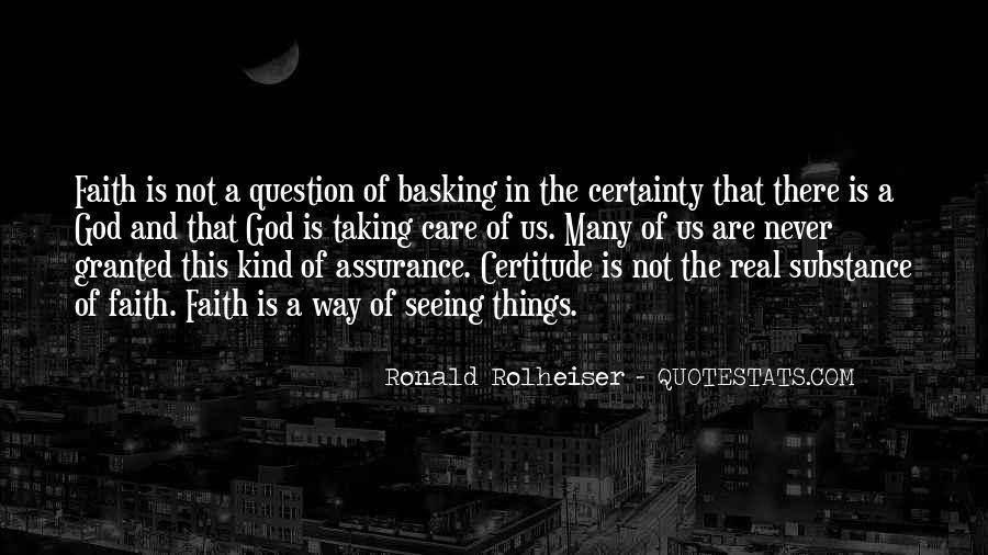 Ronald Rolheiser Quotes #1180856