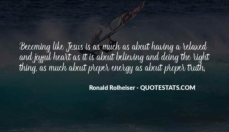 Ronald Rolheiser Quotes #963706