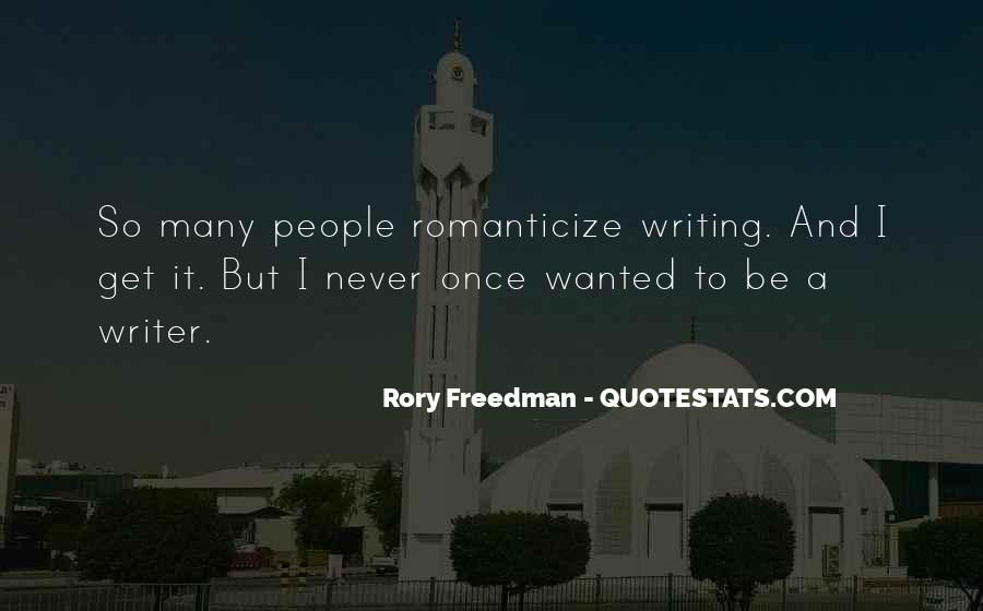 Rory Freedman Quotes #1027036