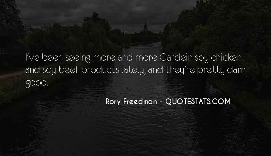Rory Freedman Quotes #111792