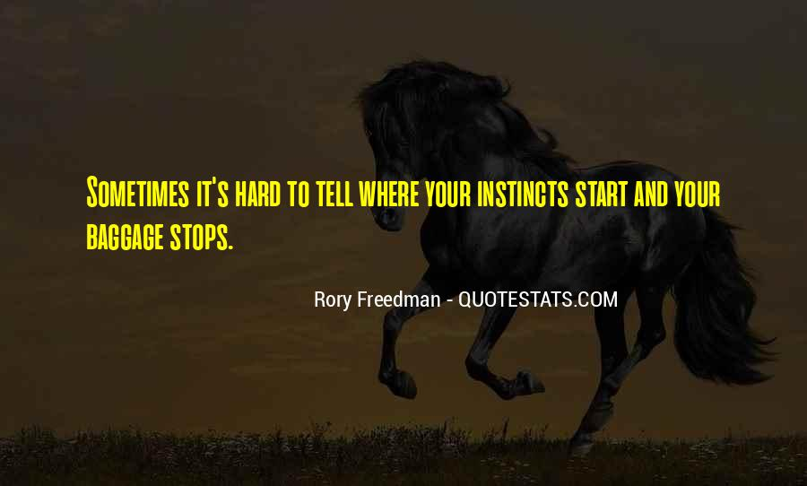 Rory Freedman Quotes #1702857