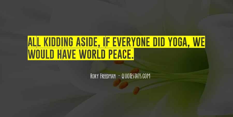 Rory Freedman Quotes #1722523
