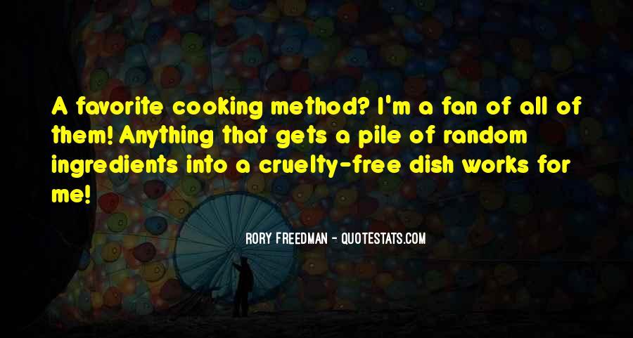 Rory Freedman Quotes #431451