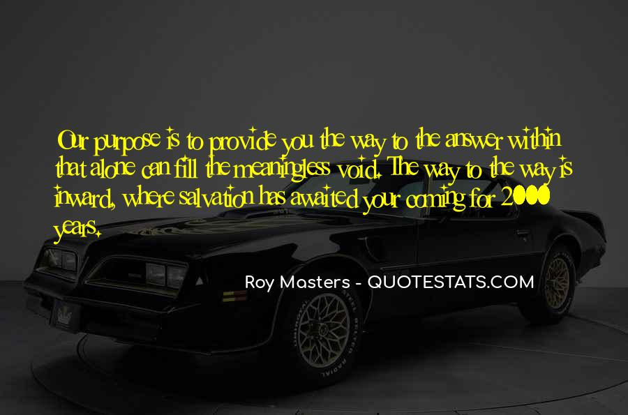 Roy Masters Quotes #671483