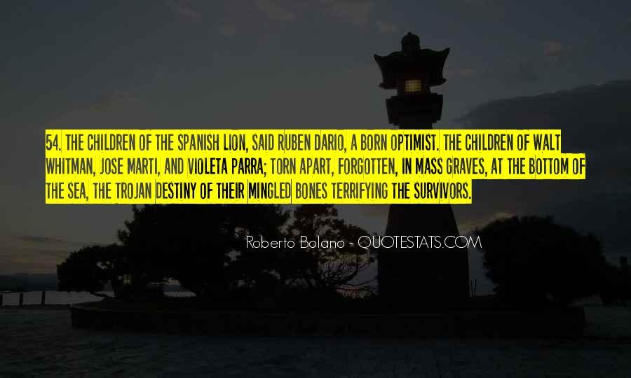 Ruben Dario Quotes #13254