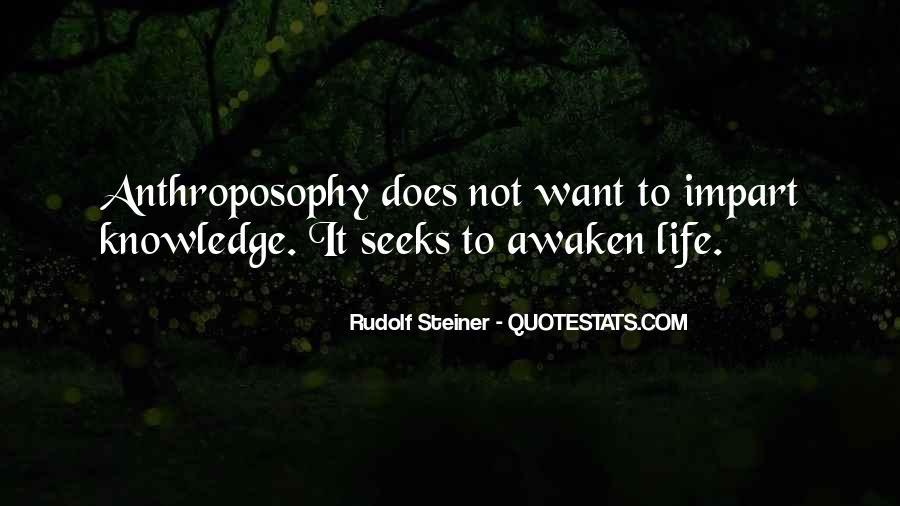 Rudolf Steiner Quotes #1392918