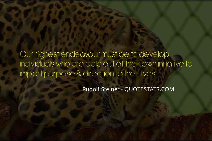 Rudolf Steiner Quotes #163821