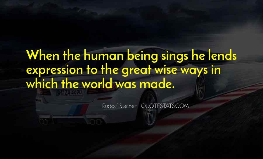 Rudolf Steiner Quotes #323655