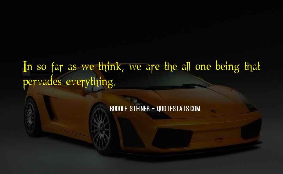 Rudolf Steiner Quotes #375843