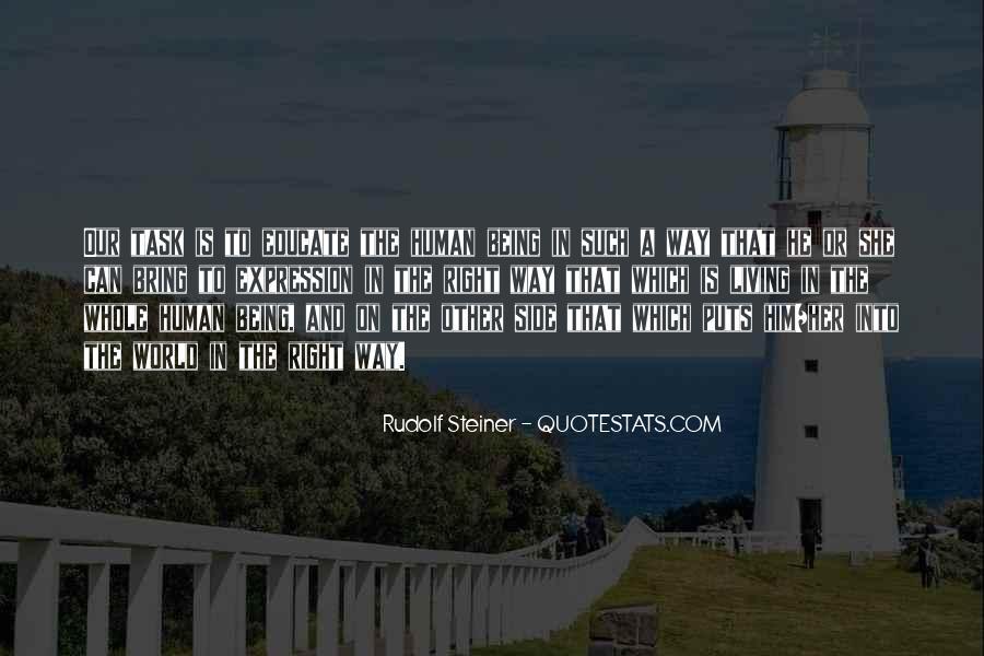 Rudolf Steiner Quotes #632378