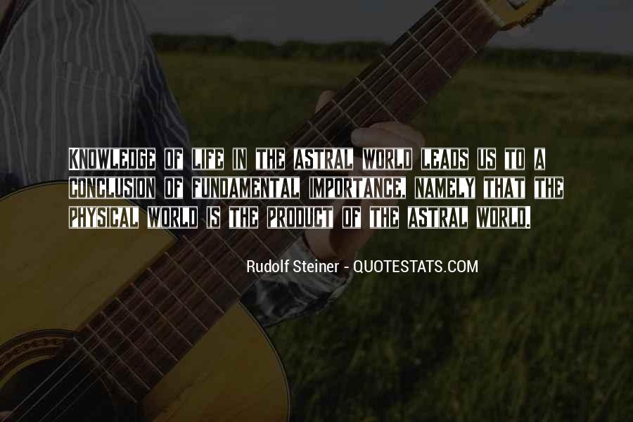 Rudolf Steiner Quotes #684942
