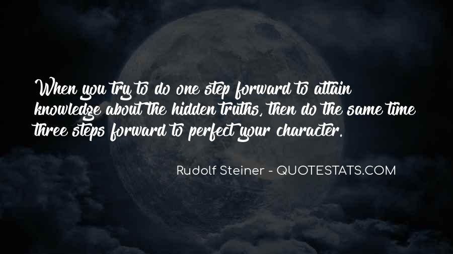 Rudolf Steiner Quotes #762744