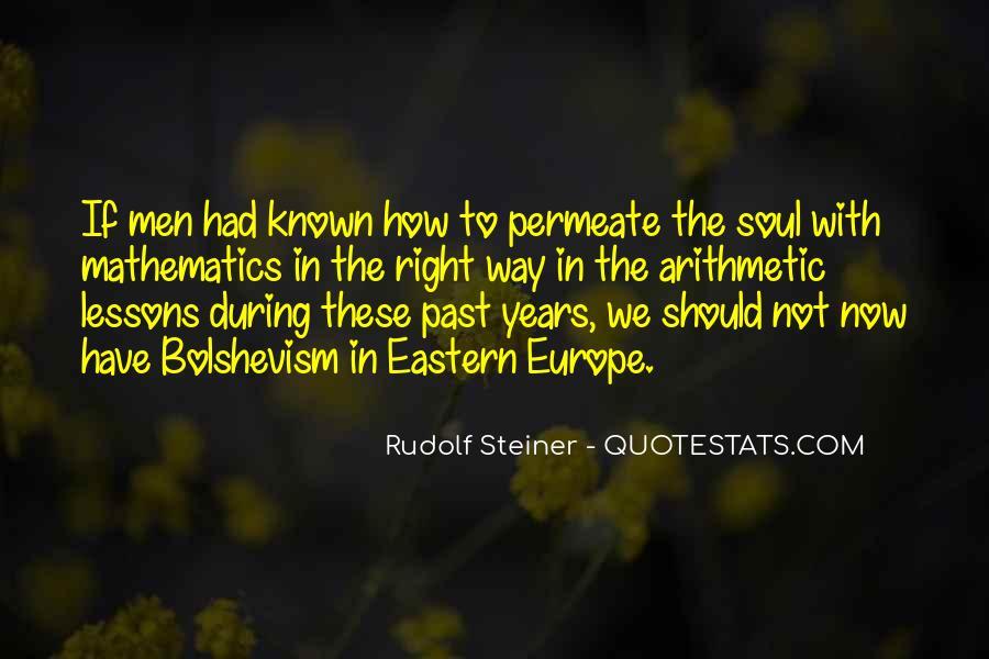 Rudolf Steiner Quotes #810211